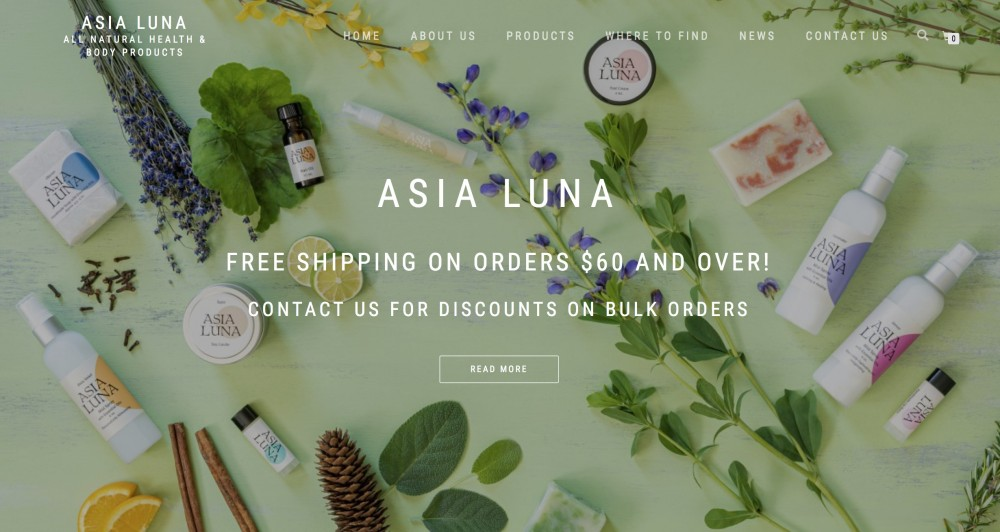 Asia Luna by Tom Stier